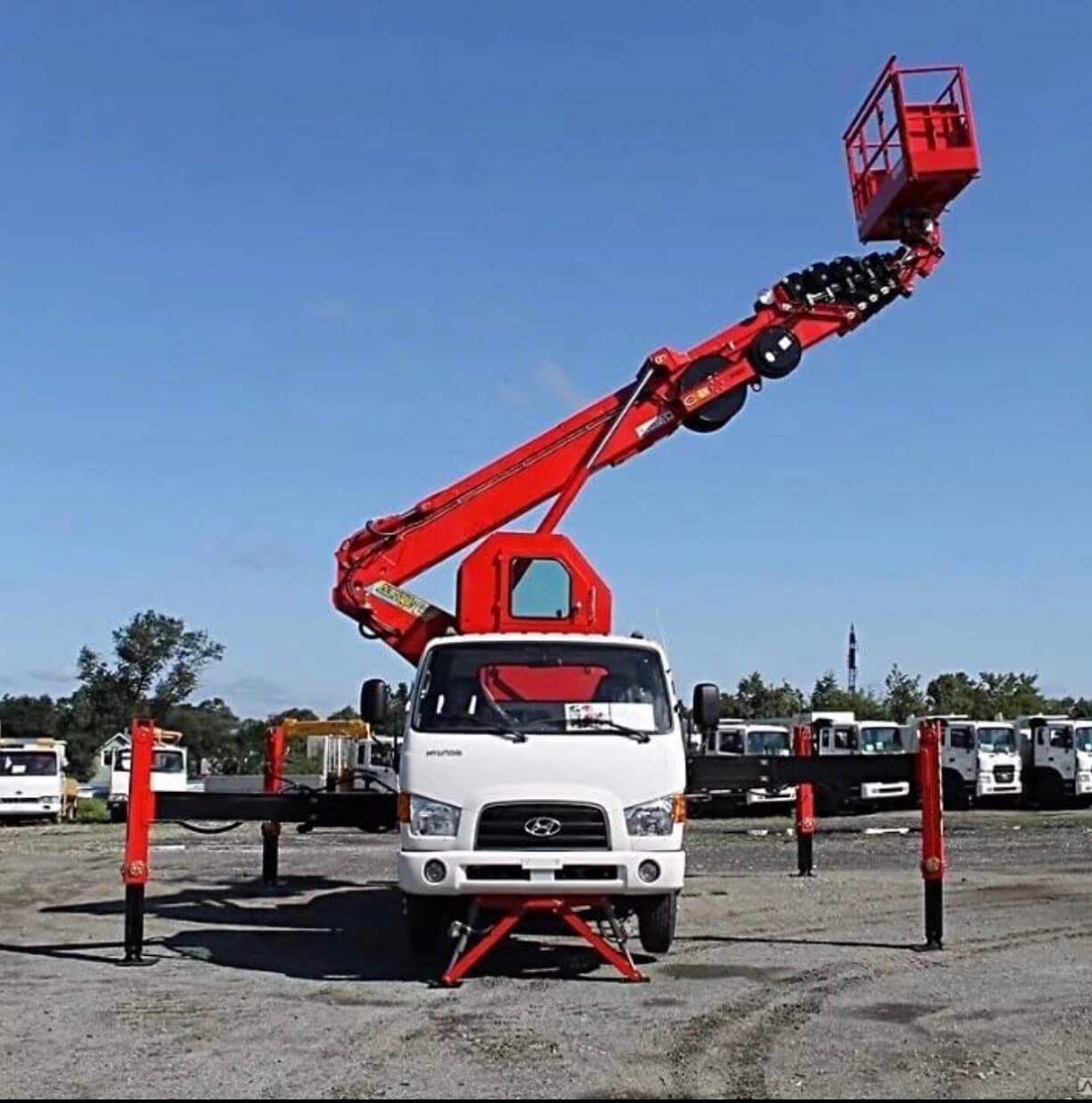 Оренда автовишки для твору будівельно-монтажних робіт